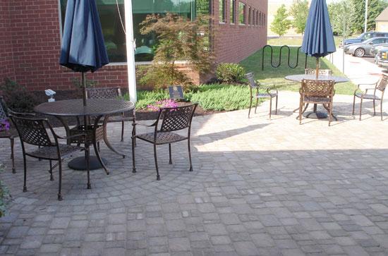 600 square foot patio